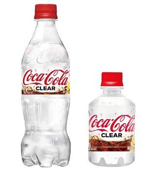 Coca Cola trasparente Giappone