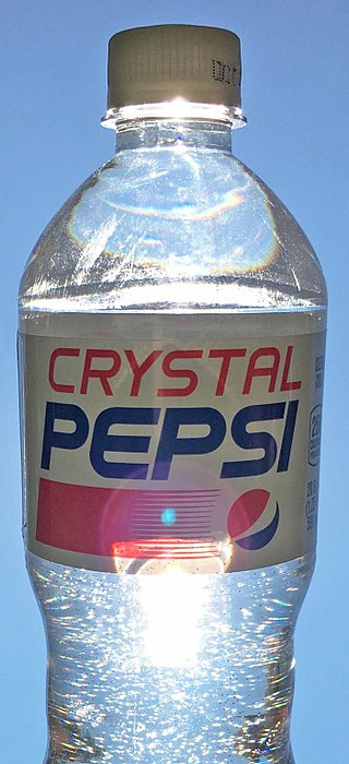 Coca Cola trasparente Giappone Pepsi