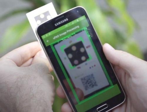 AgroPad analizza un campione di acqua in tempo reale