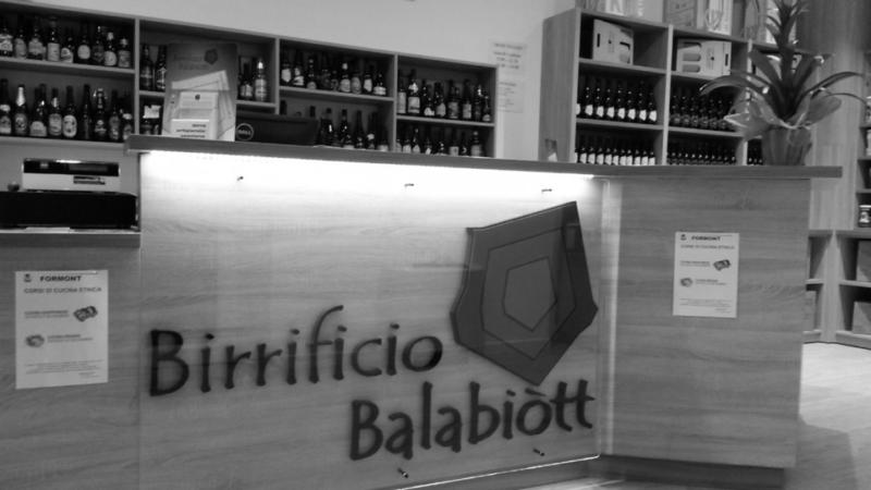 Le birre artigianali del Birrificio Balabiott 1
