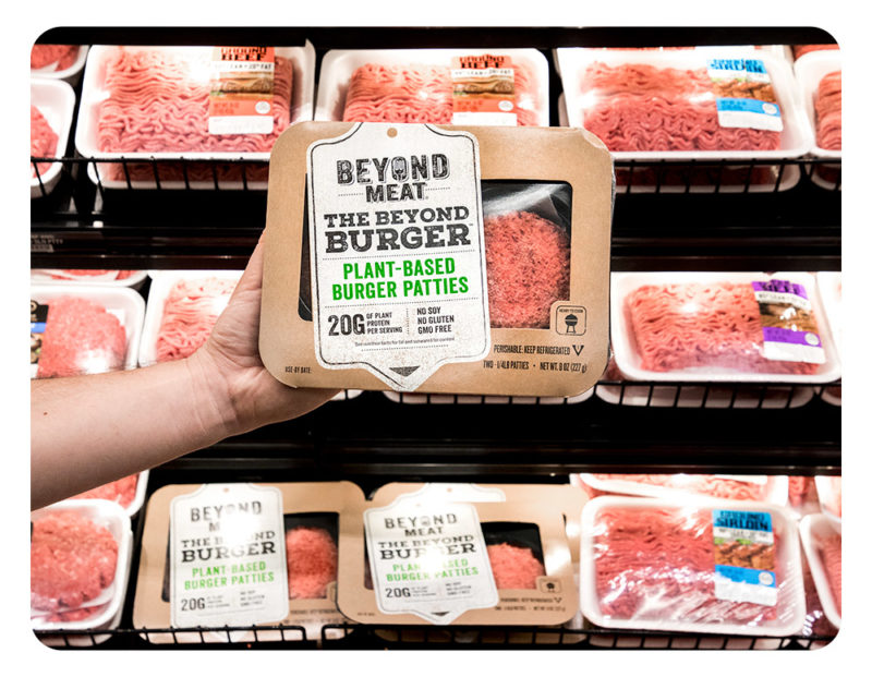 Beyond Meat Plant Based Burger