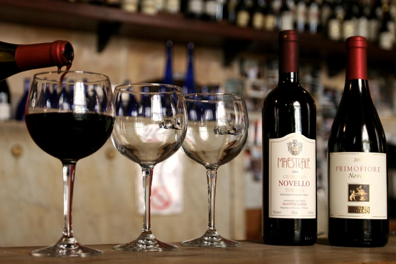 Record storico dell'export del vino Made in Italy 2