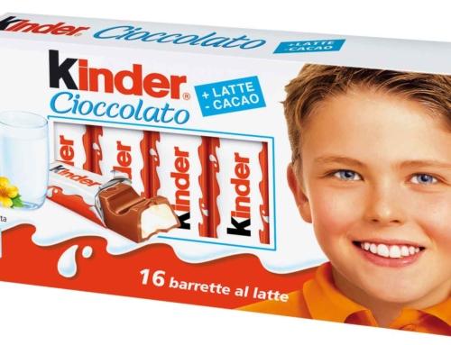 Kinder compie 50 anni, buon compleanno!
