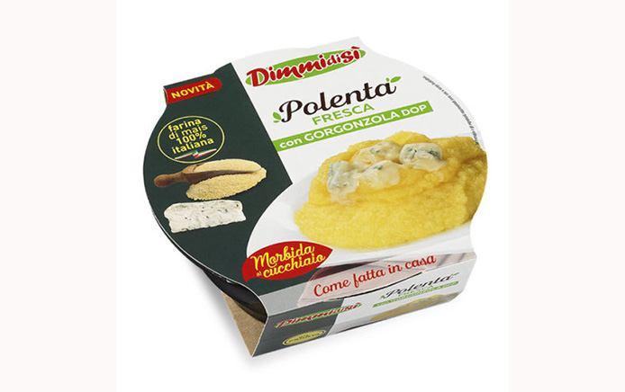 DimmiDiSì polenta fresca gorgonzola