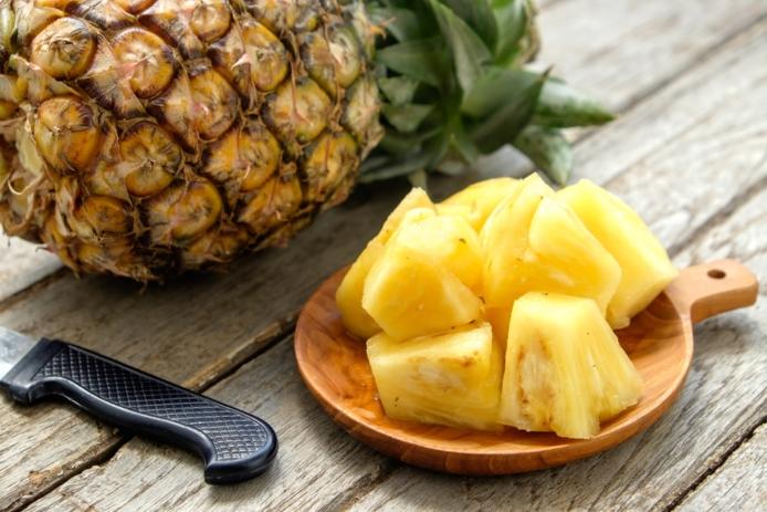 nichel free ananas dieta