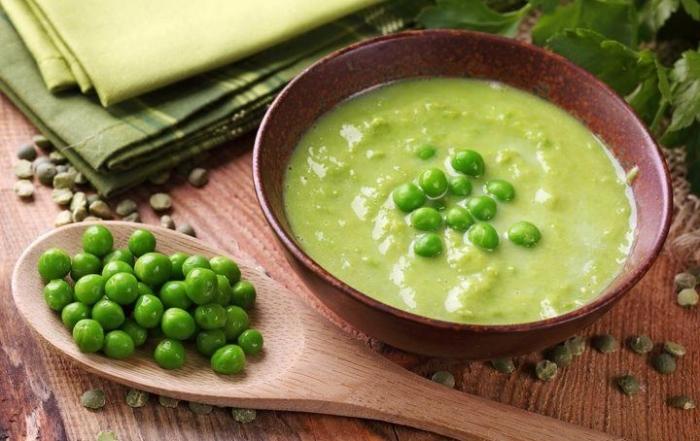 proteine vegetali vellutata piselli