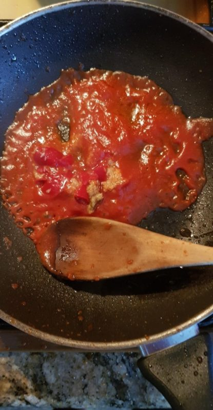 Ricetta Schianatelle - Sugo
