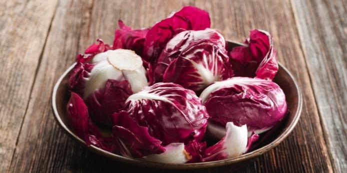 radicchio verdura abbronzatura vitamina