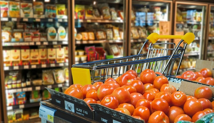 spesa salutare cibo