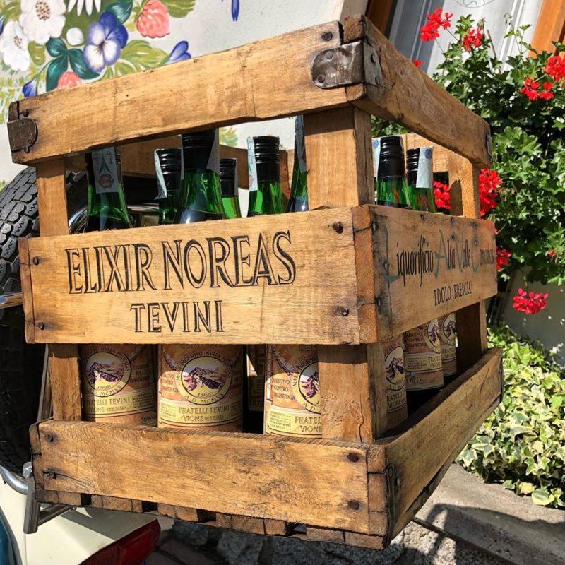 Bottiglie di Elixir Noreas