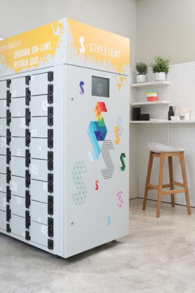 Nasce Delò: l'unico locker refrigerato al mondo, ideato da Streeteat per una pausa pranzo comoda e sicura 1