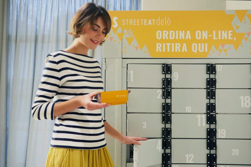 Nasce Delò: l'unico locker refrigerato al mondo, ideato da Streeteat per una pausa pranzo comoda e sicura