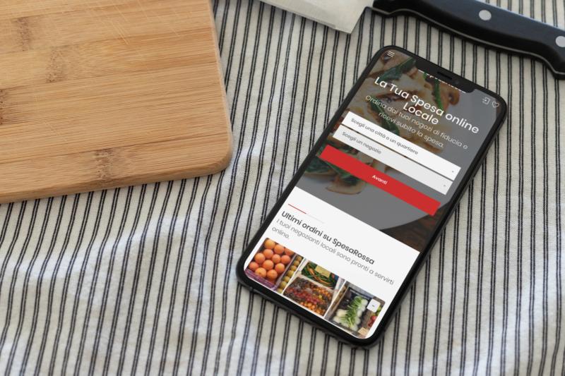 SpesaRossa, la piattaforma italiana per la spesa online locale
