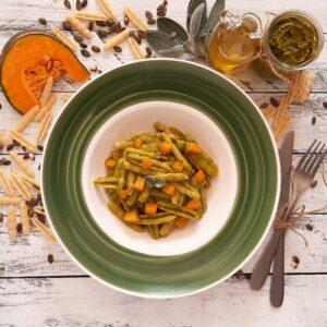 Pesto vegano di bucce e semi di zucca 2