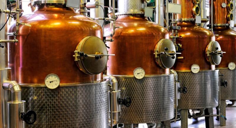 Distillo craft distilling Italia