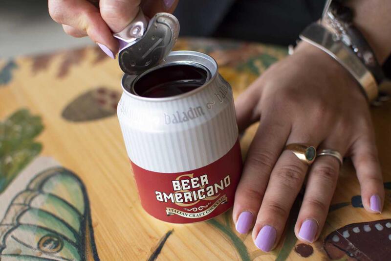 beer americano Cocktail Baladin birra artigianale